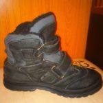 Продам детские ботинки б/у для мальчика