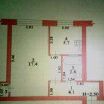 Продам 1-ную квартиру в районе УБР г.Жирновска